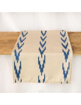 Table runner Alfabia Sea Blue