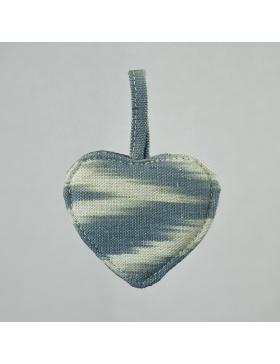 Keychain Heart Talaia Grey