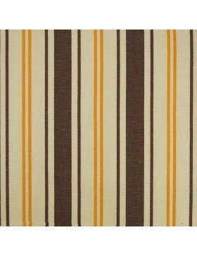 Striped Fabric Brown and Sand