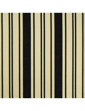 Striped Fabric Rampi Black
