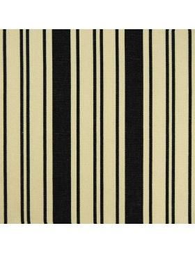 Striped Fabric Rampi Black