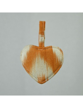 Keychain Heart Talaia Orange