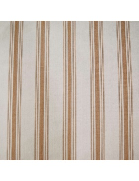 Striped fabric Ona Taupe