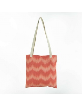 Tote Bag Talaia Coral Red