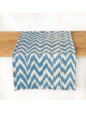 Table runner Talaia Sky Blue