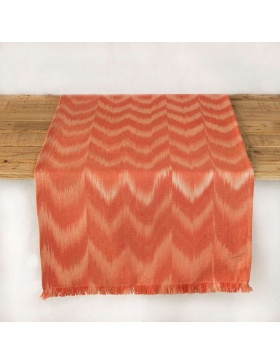 Table runner Talaia Coral