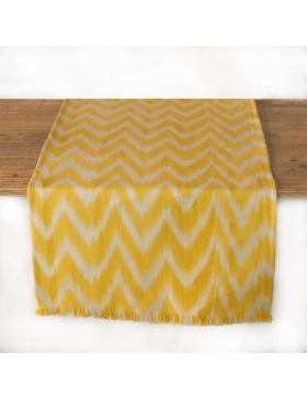 Table runner Talaia Yellow