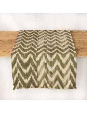Table runner Talaia Olive...