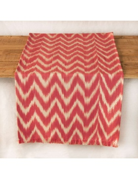 Table runner Talaia Magenta