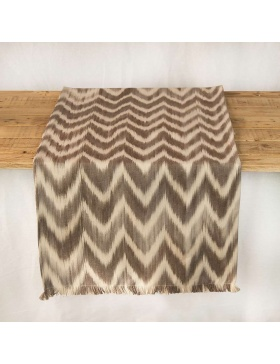 Table runner Talaia Taupe