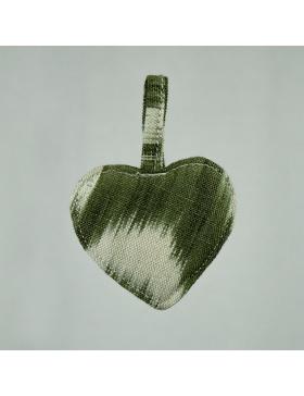 Keychain Heart Talaia Olive...