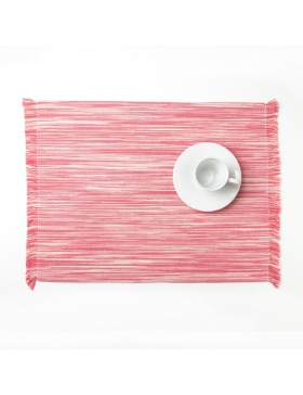 Placemat marbled Pink