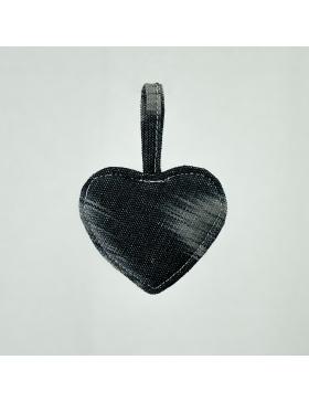 Keychain Heart Talaia Black
