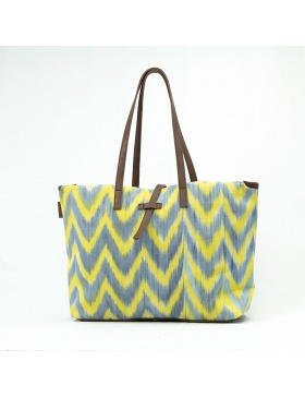 Maxibag Talaia Yellow Grey