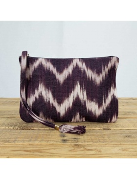 Clutch Talaia Plum