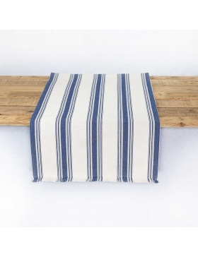 Table runner striped Ona...