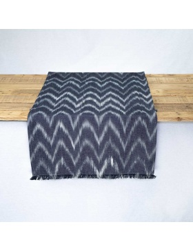 Table runner Talaia Black