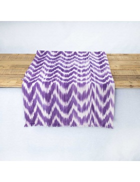 Table runner Talaia Violet
