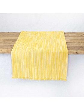 Table runner Marbled Yellow