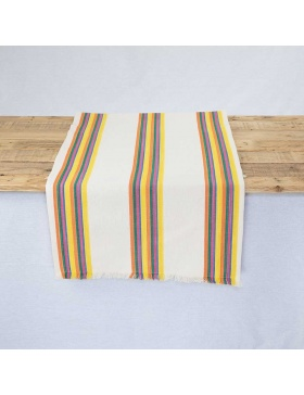 Table runner striped Coent
