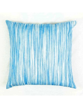 Cushion cover marbled Sky Blue