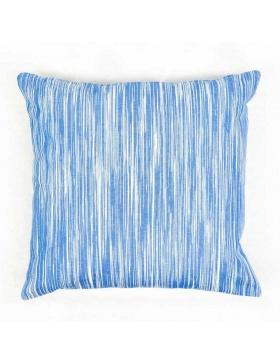Cushion cover marbled Sea Blue