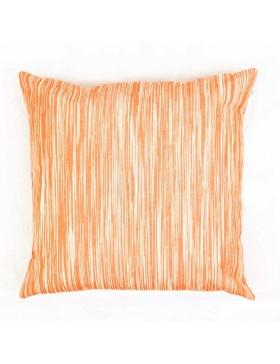 Cushion Cover Marbled Naranja