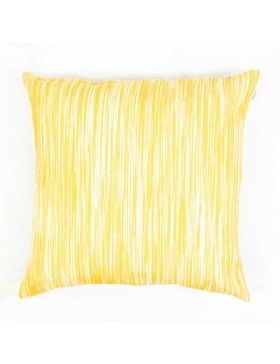 Cushion cover marbled Yellow