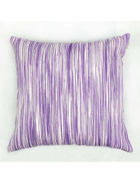 Cushion cover marbled Violet