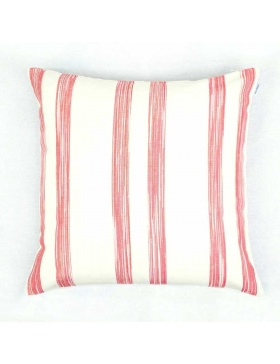 Cushion cover striped...
