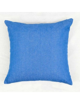 Cushion cover plain Sea Blue