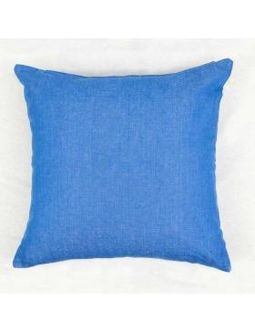 Cushion cover plain Sea Blue
