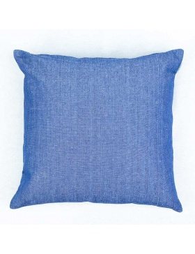 Cushion cover plain Indigo