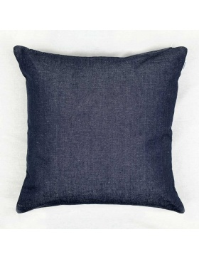 Cushion cover plain Black