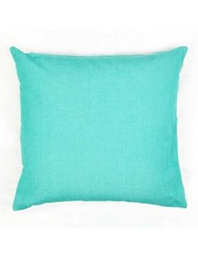 Cushion cover plain Turquoise