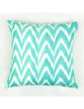 Cushion Cover Talaia Turquoise