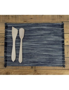 Placemat Marbled Black