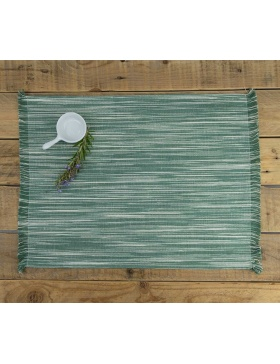 Placemat Marbled Forest Green