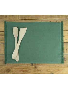 Placemat Forest Green